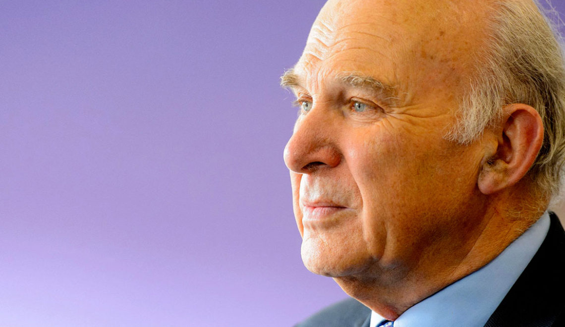 Interview with Sir Vince Cable